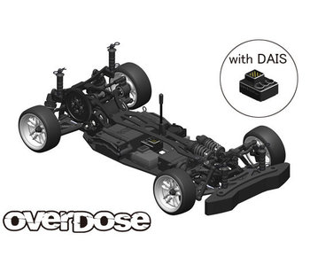 Overdose GALM 2WD Chassis Kit with DAIS gyro
