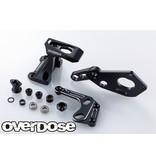 Overdose Floating Motor Mount System for GALM / Color: Black