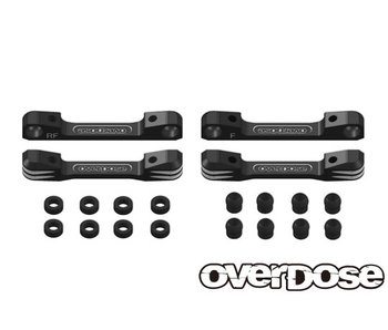 Overdose Alum. Suspension Mount Set for GALM / Black