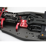 Yokomo DPP-302V4R - Drift Performance DP-302V4 Steering Gyro 3CH - Red Version