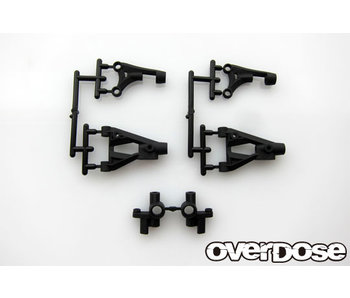 Overdose Front Suspension Arm & Knuckle Set for XEX spec.R, Vacula, Divall