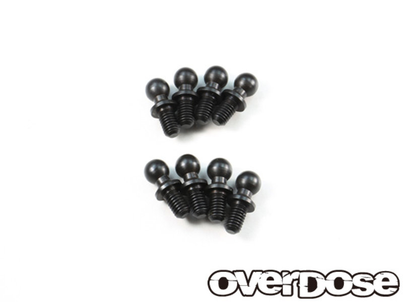 Overdose Ball Stud φ4.3mm x 8mm for Vacula, Divall (8pcs)