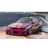 Addiction RC AD-PB7 - Nissan Silvia S13 ROCKETBUNNY (Toshiki Nagai Model) Body LIMITED SET
