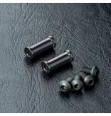 MST Aluminium Post M3 x 13mm (2pcs) / Color: Black