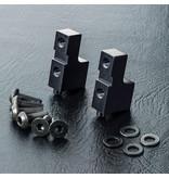MST Aluminium Servo Mount / Color: Black