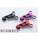 Overdose Adjustable Aluminum Front Upper Arm Set for OD / Color: Black
