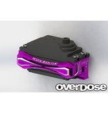 Overdose 2-Way Layout Aluminum Servo Mount for Vacula, Divall, Vacula II, GALM / Color: Black