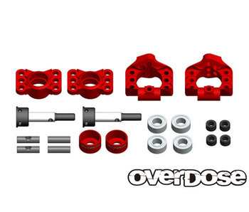 Overdose Adj. Alum. Rear Upright for OD, YD-4, YD-2 / Red