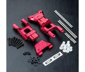 MST MB Alum. Rear Lower Arm Set / Red