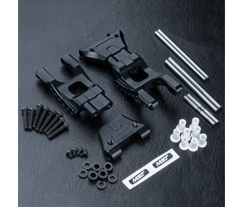 MST MB Alum. Rear Lower Arm Set / Black