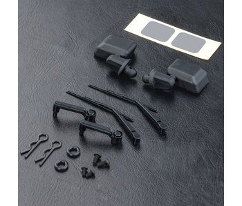 MST JP1 (Jeep Wrangler) Side Mirror & Wiper Set