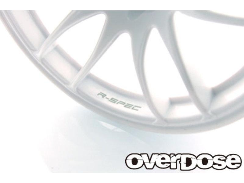 Overdose R-SPEC Work Emotion CR Kiwami / Color: White / Offset: 7mm (2pcs)
