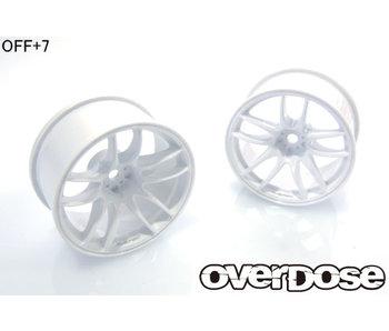 Overdose R-SPEC Work Emotion CR Kiwami / White / 7mm (2)