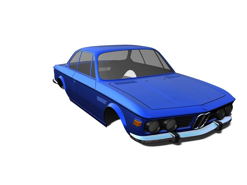 Rc Arlos RC-E9C30BS - BMW E9 (C3.0) Clear Body