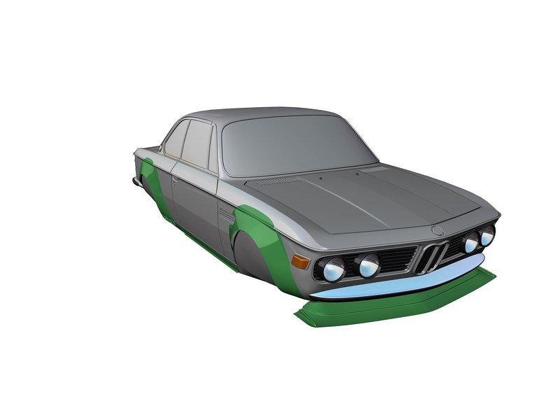 Rc Arlos RC-E9C30WBK - Wide Body Kit for BMW E9 (C3.0)
