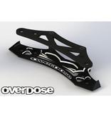 Overdose Aluminum Bumper for OD, YOKOMO / Color: Black