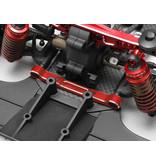 Yokomo Y2-301AR - Aluminium Adjustable Suspension Mount Set - Red