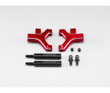 Yokomo Aluminium Front Lower Short A-Arm - Red (1 set)
