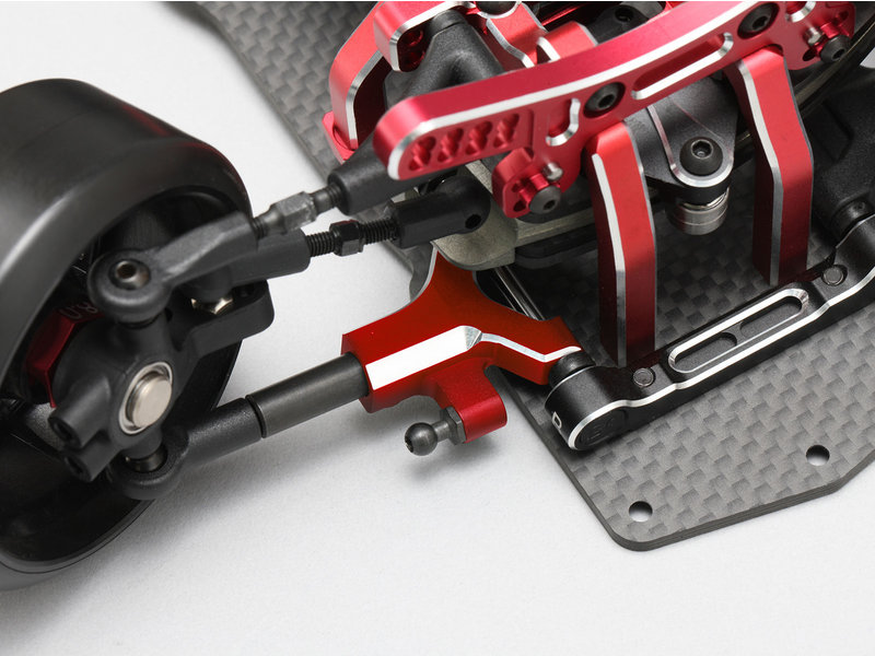 Yokomo Y2-R08FSC - Aluminium Front Lower Short A-Arm - Red (1 set) - DISCONTINUED