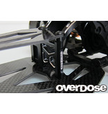 Overdose Aluminum Rear Brace Mount for GALM / Color: Black