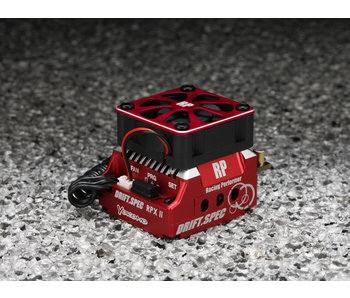 Yokomo Racing Performer Competition Brushless ESC RPXII - DRIFT SPEC RED VERSION
