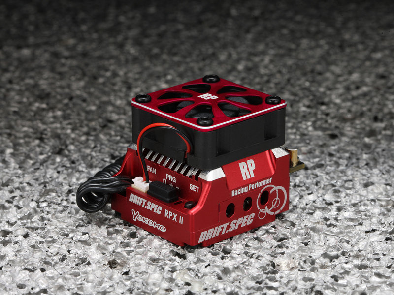 Yokomo BL-RPX2DR - Racing Performer Competition Brushless ESC RPXII - DRIFT SPEC RED VERSION