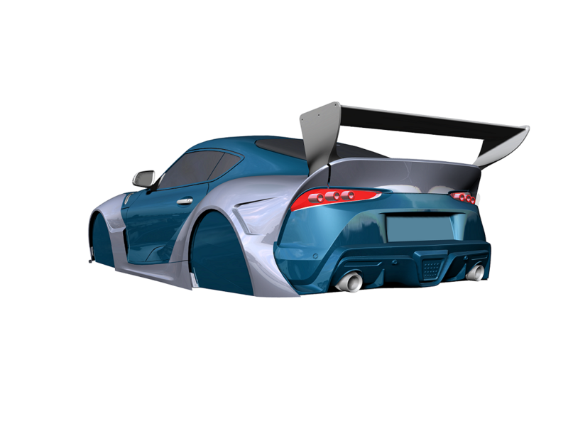 Rc Arlos RC-SPR-BK1 - Wide Body Kit for Toyota Supra (A90)