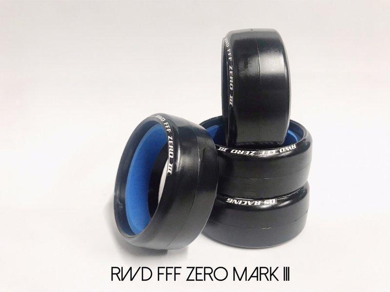 DS Racing RW-010 - Drift Tire Competition Series II RWD-FFF-Zero Mark III (4pcs)