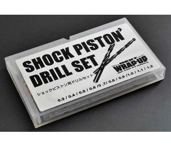 WRAP-UP Next Shock Piston Dedicated Drill Set 0.3-1.2 mm (10pcs)