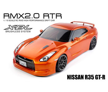 MST RMX 2.0 2WD RTR - Brushless / Nissan R35 GT-R - Orange
