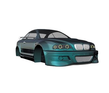 Rc Arlos BMW M3 (E46) Clear Body