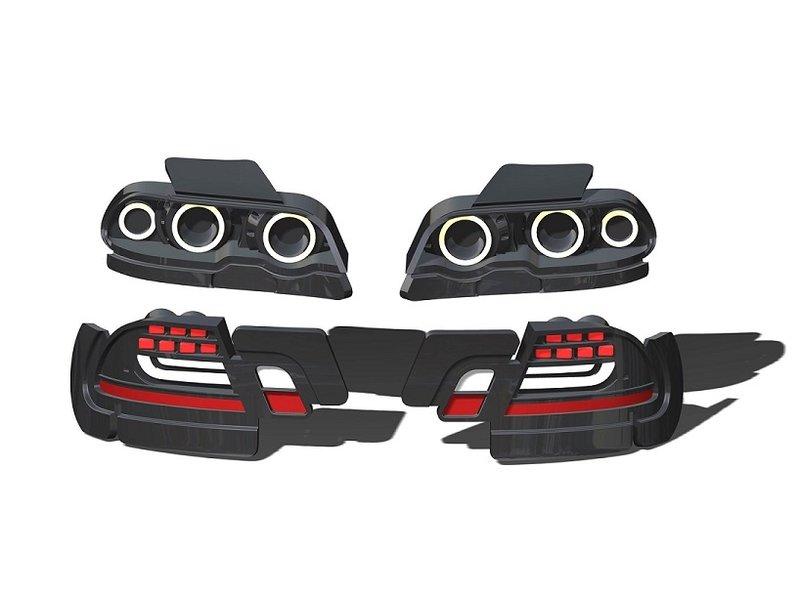 Rc Arlos RC-E46M3-SLB - Lights Buckets for BMW M3 (E46)