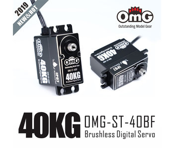 RC OMG 40kg Full Metal Standard Waterproof Digital Brushless Servo