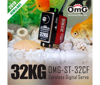 RC OMG 32kg Full Metal Standard Waterproof Digital Coreless Servo