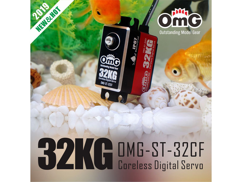 RC OMG ST-32CF - 32kg Full Metal Standard Waterproof Digital Coreless Servo