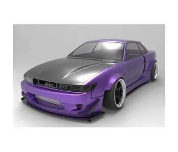 Addiction RC NISSAN Silvia S13 ROCKETBUNNY Street Version Body