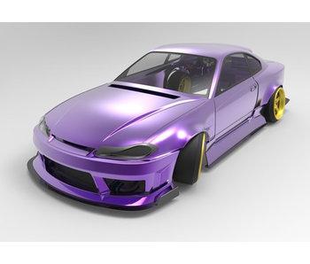 Addiction RC NISSAN Silvia S15 ORIGIN Labo (Raijin Nakamura Naoki Model) Body