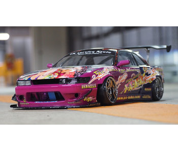 Addiction RC Nissan Silvia S13 ROCKETBUNNY (Toshiki Nagai Model) Body LIMITED SET