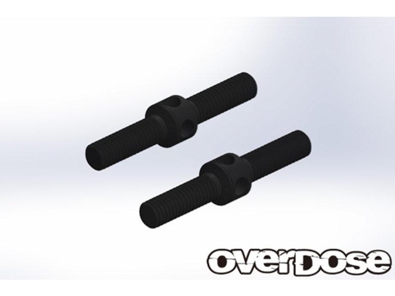 Overdose HD Turn Buckle Steel 23mm / Color: Black
