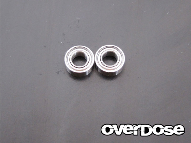Overdose Low Friction Bearings φ4mm x φ8mm x 3mm (2pcs)