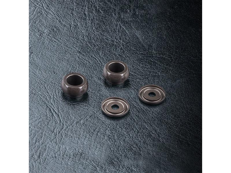 MST TCR Aluminium Coil Spring Ball Connector & Cap