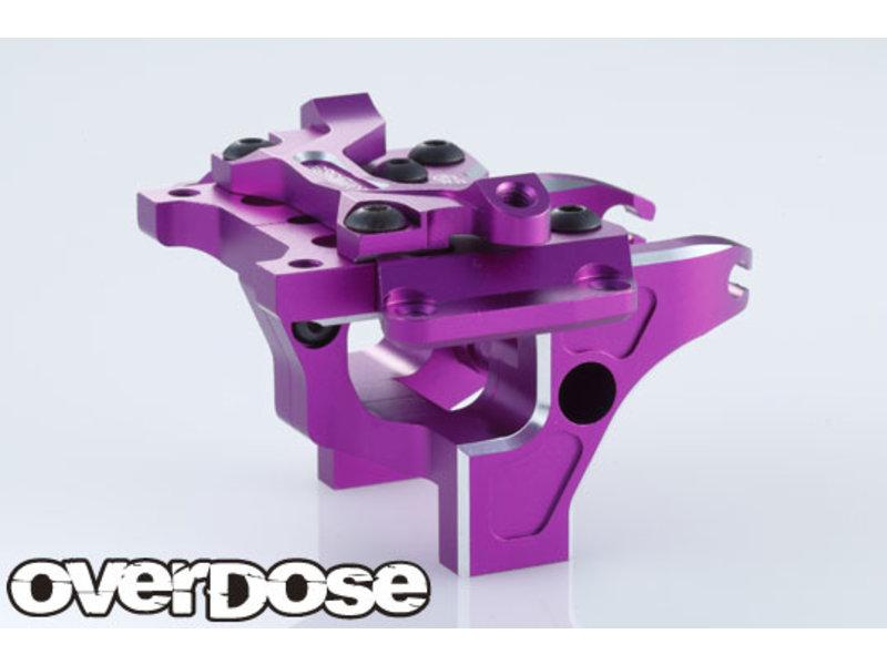 Overdose Aluminum Front Bulkhead Type-2 for Vacula II, GALM / Color: Purple