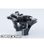 Overdose Aluminum Front Bulkhead Type-2 for Vacula II, GALM / Color: Black