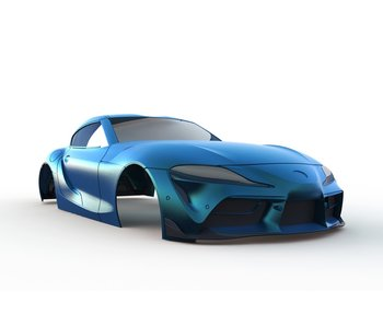 Rc Arlos Toyota Supra (A90) Clear Body