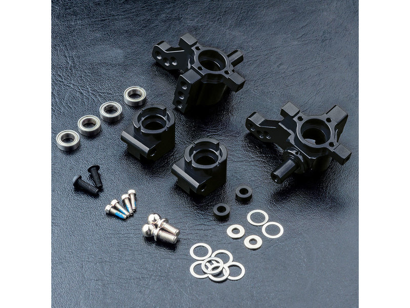 MST MB Aluminium Rear Upright Set / Color: Black
