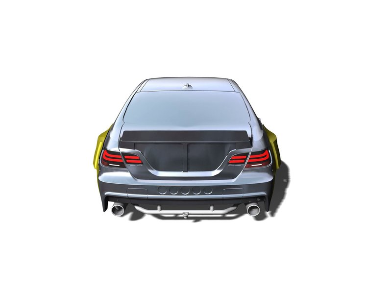 Rc Arlos RC-M3E92HGK-ES - HGK Exhaust System for BMW M3 (E92)