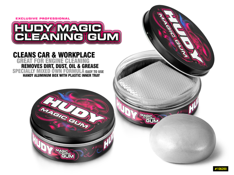 Hudy H106200 - Magic Cleaning Gum
