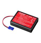 Sanwa 107A10981A - Li-Po Battery LP1-2500 3,7V for M17