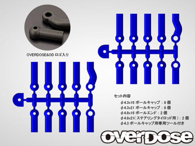Overdose HD Ballcap Set / Color: Black