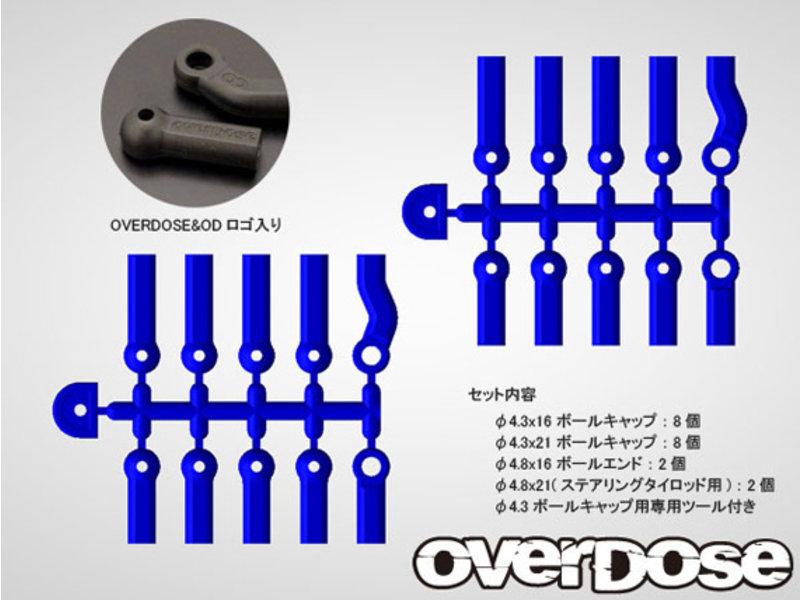 Overdose HD Ballcap Set / Color: White - DISCONTINUED